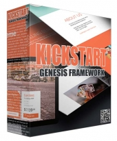 Kickstart Genesis Framework WP Theme Template with Personal Use Rights/Developers Rights
