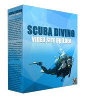 Scuba Diving Video Site Builder Software Software with Master Resell Rights/Giveaway Rights