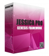 Jessica Pro Genesis Framework WordPress Theme Template with Personal Use Rights/Developers Rights