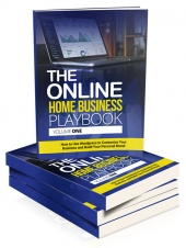 Online Home Business Playbook eBook with private label rights