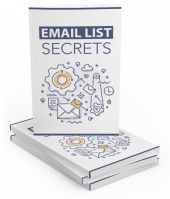 Email List Secrets Step-by-Step Guide eBook with private label rights