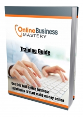 Online Business Mastery eBook with Personal Use Rights