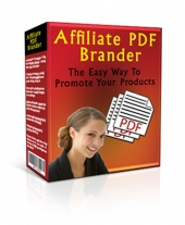 Affiliate PDF Brander Software Software with Master Resell Rights/Giveaway Rights