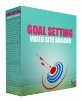 Goal Setting Video Site Builder Software Software with Master Resell Rights/Giveaway Rights