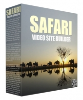 Safari Video Site Builder Software with Master Resell Rights/Giveaway Rights
