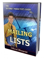 Mailing List Strategies eBook with Private Label Rights/Giveaway Rights