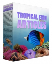 Tropical Fish PLR Content Gold Article with private label rights