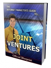 Internet Marketers Joint Ventures Guide eBook with Private Label Rights/Giveaway Rights