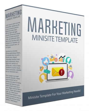 Marketing Minisite Template V53