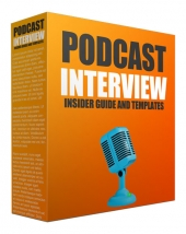 Podcast Interview Template eBook with private label rights
