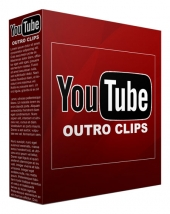 25 Youtube Outro Clips Video with Private Label Rights