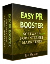 Easy PR Booster Updated Software with Private Label Rights