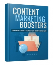 Content Marketing Boosters eBook with Personal Use Rights