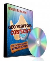 GEO Visitor Software with Private Label Rights Only