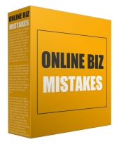 Online Biz Mistakes eBook with Personal Use Only