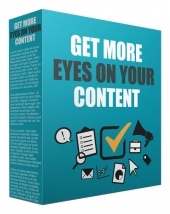 Get More Eyes On Your Content Video with Resell Rights/Giveaway Rights