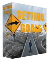 Setting Goals PLR Content Gold Article with Private Label Rights