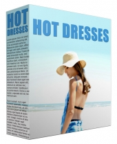 Hot Dresses Trends Gold Article with private label rights