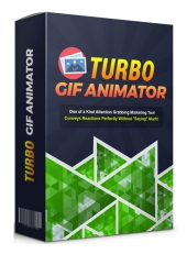 Turbo GIF Animator Software with Resell Rights Only