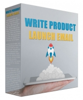 Write Product Launch Email Audio with Master Resell Rights/Giveaway Rights