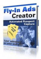 Fly-In Ads Creator Software with Resell Rights