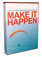 Make It Happen Video Upgrade Video with Master Resell Rights/Giveaway Rights
