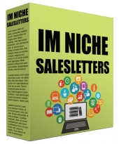 IM Niche Salesletter Swipes eBook with Master Resell Rights/Giveaway Rights