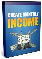 Create Monthly Income Video with private label rights