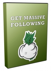 Get Massive Following Today Video with Personal Use Only