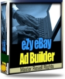 eZy eBay Ad builder Software with Master Resale Rights