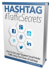 Hashtag Traffic Secrets eBook with private label rights
