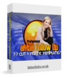 Professional eMail Follow Up Template with Master Resale Rights