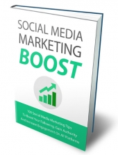 Social Media Marketing Boost eBook with Master Resell Rights/Giveaway Rights