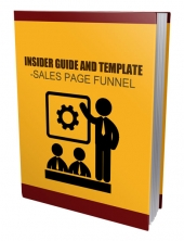 Insider Guide Template - Sales Page Funnel eBook with private label rights