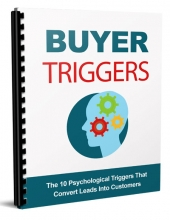 Buyer Trigger eBook with Master Resell Rights/Giveaway Rights