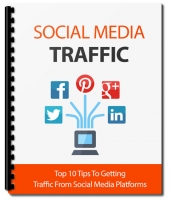 The Social Media Traffic eBook with Master Resell Rights/Giveaway Rights