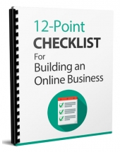 12-Point Checklist eBook with Master Resell Rights/Giveaway Rights