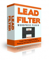 Lead Filter WP Plugin Software with Personal Use