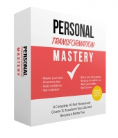 Personal Transformation Mastery eBook with Master Resell Rights