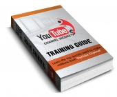 Youtube Channel Income eBook with Resale Rights