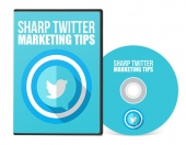 Sharp Twitter Marketing Tips Video with Private Label Rights