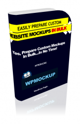 WP Mockup Software with Personal Use