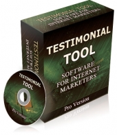 Testimonial Tool PRO Software with Private Label Rights