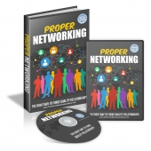 Proper Networking Video with Master Resell Rights