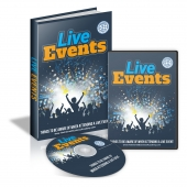 Live Events Video with Master Resell Rights