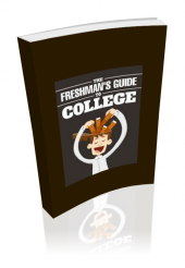 Freshmans Guide To College eBook with private label rights