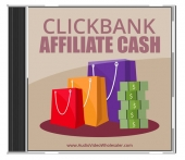 ClickBank Affiliate Cash Audio with Master Resell Rights