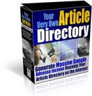 Your Very Own Article Directory Software with Resell Rights