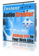 Instant Audio Creator Software with Resell Rights