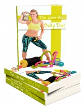 The Lose Your Belly Diet eBook with private label rights